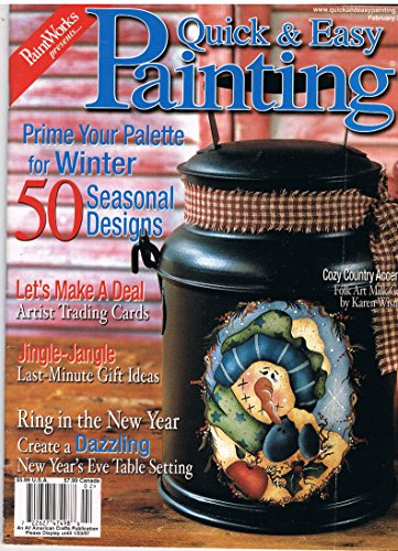 PaintWorks Presents Quick & Easy Painting Magazine