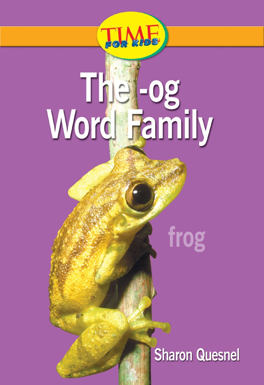 Download The -og Word Family: Readiness- Word Families (Nonfiction Readers) pdf