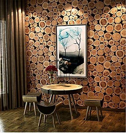 Eurotex Block Design Paper Wallpaper Roll (50.01 cm x 10 cm x 10 cm, Brown)
