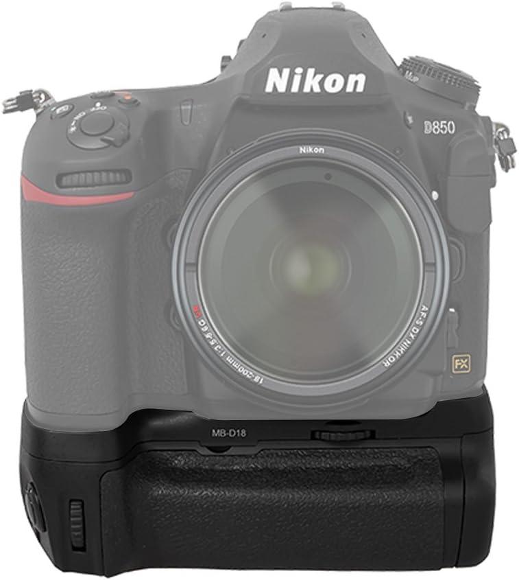 Battery Grip Kit for Nikon D850 Digital SLR Camera MB-D18 Replacement Battery Grip Includes Qty 3 BM Premium EN-EL15 Batteries
