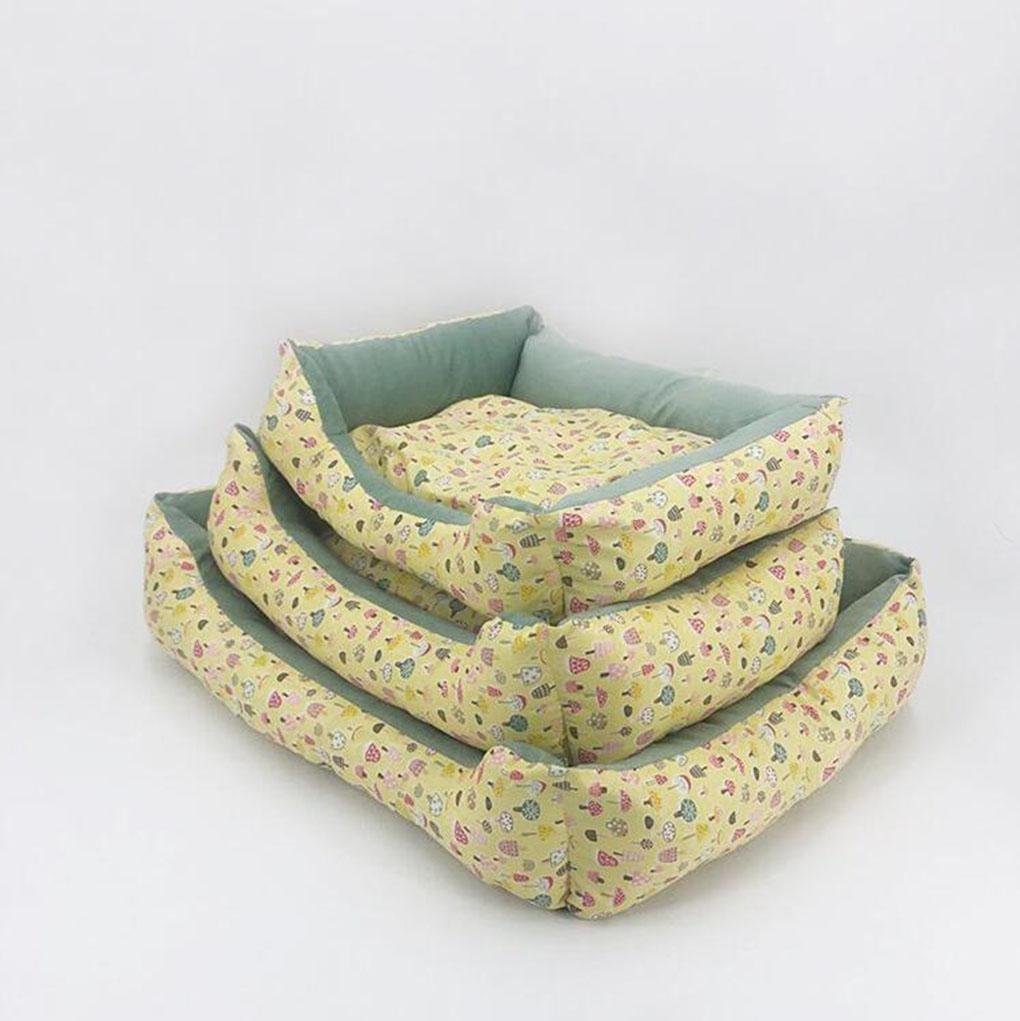 CHWWO Lavabile in lavatrice, canottaggio per cucce per cani piccolo e medio, grande, impermeabile, fondo 65  55 cm, three pieces of one set