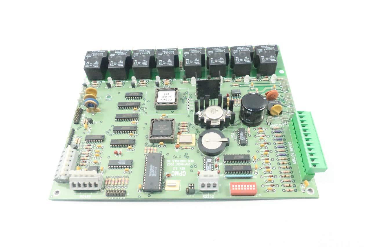 REDI CONTROLS REDI PURGE CIRCUIT BOARD /& LCD READOUT MODEL GPMC REV 2.2