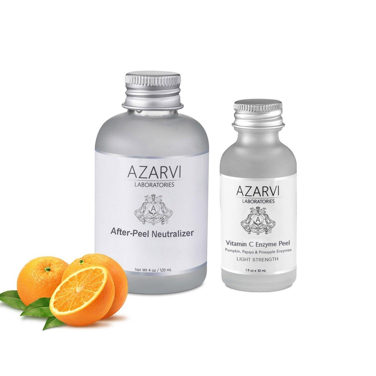 Vitamin Enzyme Peel with 40% Lactic Acid, 20% Glycolic Acid, 10% Vitamin C, Pumpkin, Papaya and Pineapple Enzymes. Get Soft, Radiant Healthy Skin. No Burning. No Peeling