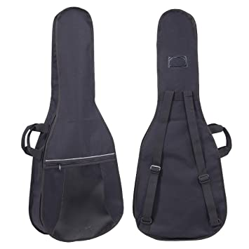 Funda Bolsa Poly acolchada impermeable para guitarra eléctrica Negro Black stefy Line bx603: Amazon.es: Instrumentos musicales