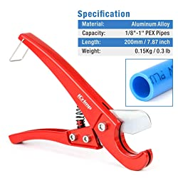 PEX Pipe Cutters for Cutting