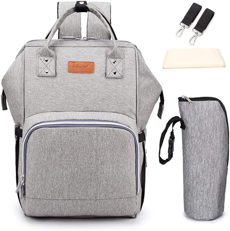 with Compartment Big Capacity Stroller Organiser for iPhone Grey Diapers Wirezoll Buggy Organiser Plus Shoulder Strap Toys and Accessories