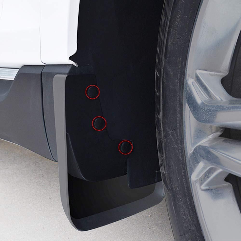 Pour V olkswagen V W TIGUAN 2008-2018 Bavettes Pour Auto Garde-Boues de Voiture Avant Et Arri/ère 4pcs Sertie de Vis MK1