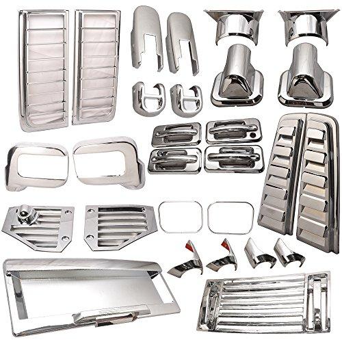 hummer h2 chrome accessories kit - 1