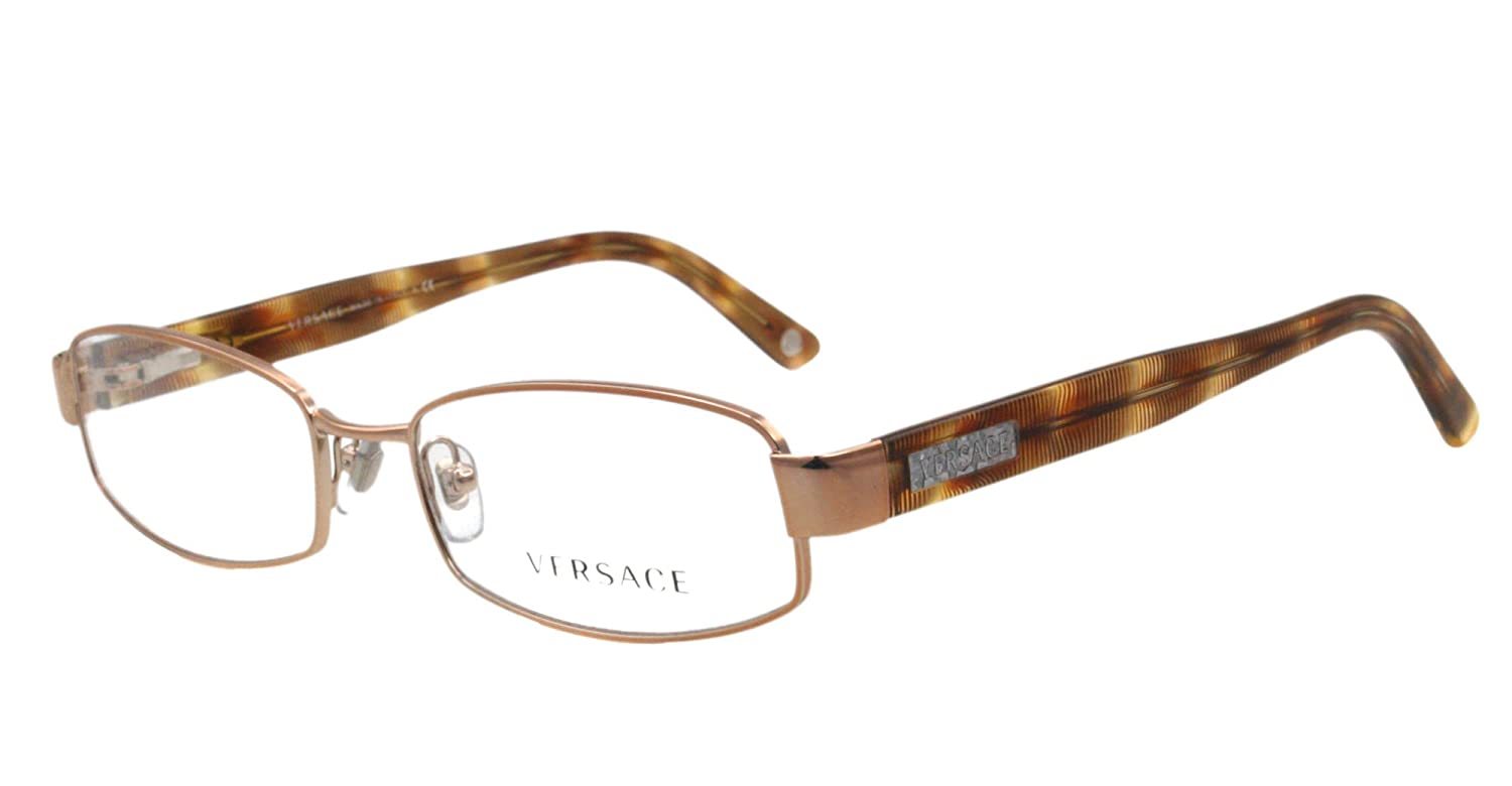 4e989c9bb0add Amazon.com  Versace Eyeglasses VE 1176 BROWN 1052 51MM VE1176  Versace   Clothing
