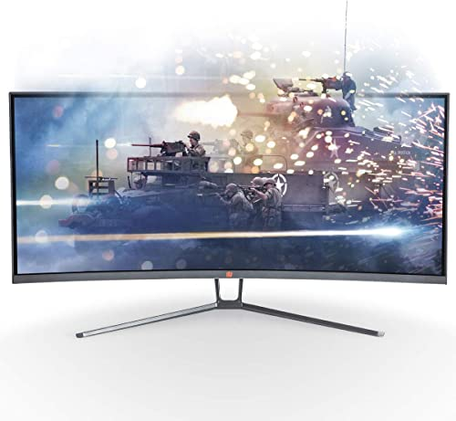 """Deco Gear 35"""" Curved Ultrawide LED Gaming Monitor review"""