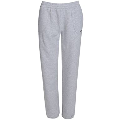 reputable site detailed images 50% off LA Gear Womens Closed Hem Jog Pants Ladies Sport Running Jogging Bottoms  Joggers Grey Marl 14 (L)