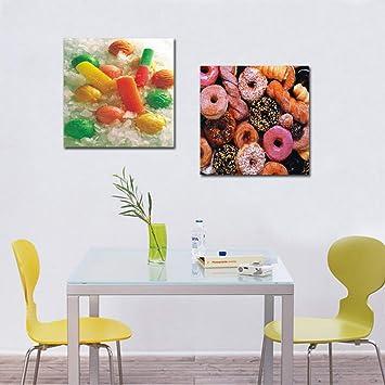 Beau OGICAN Art Encadré 2 Panneau Mural Art Peinture Peintures à Lu0027huile Moderne  à Dessert
