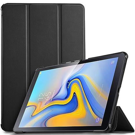 IVSO Funda Carcasa Slim PU Protectora con Auto Wake/Sleep Función para Samsung Galaxy Tab