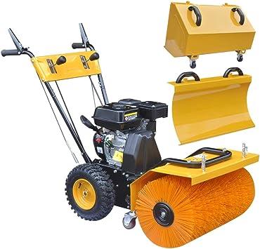 vidaXL Quitanieves Barredora Multiusos Gasolina con 2 Etapas Potencia 6,5 HP: Amazon.es: Bricolaje y herramientas