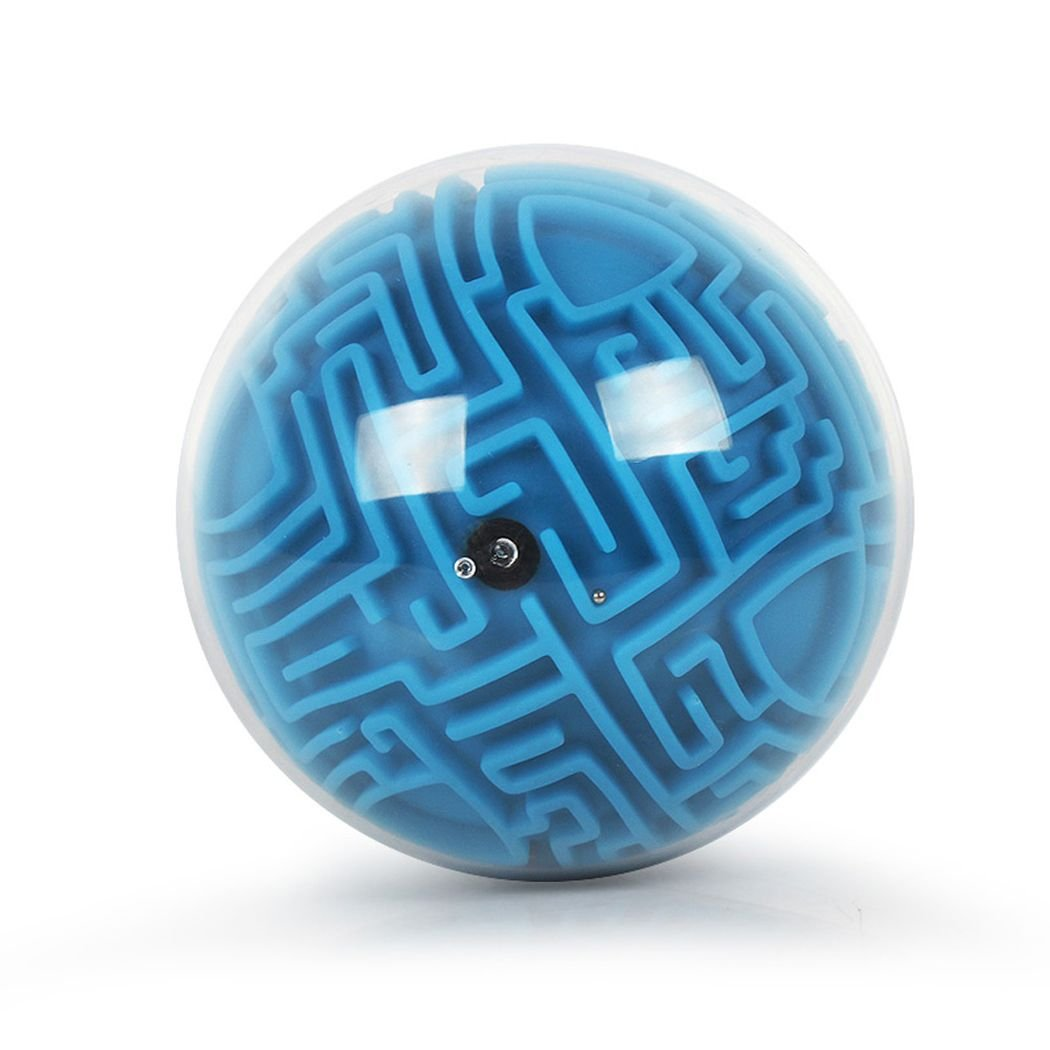 Wanbosi Dreidimensionale Labyrinth Kugel. Koordinations und Geschicklichkeitsspiel. Geringe Schwierigkeit