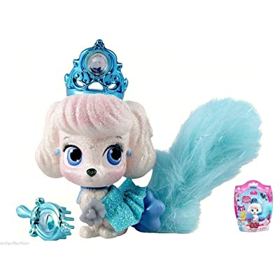 Disney Princess Palace Pets Glitzy Glitter Friends Cinderella's Puppy Pumpkin: Toys & Games