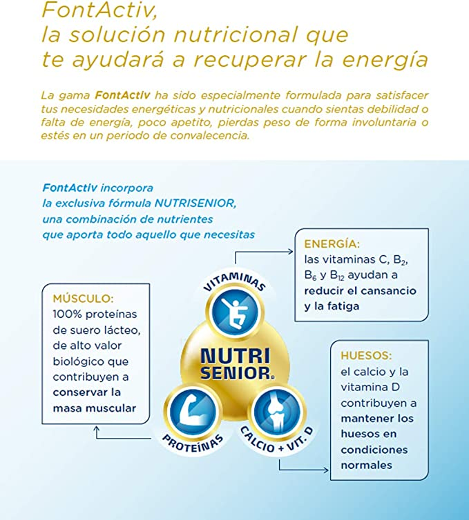 Fontactiv Forte Chocolate - 800 gr Suplemento Nutricional ...