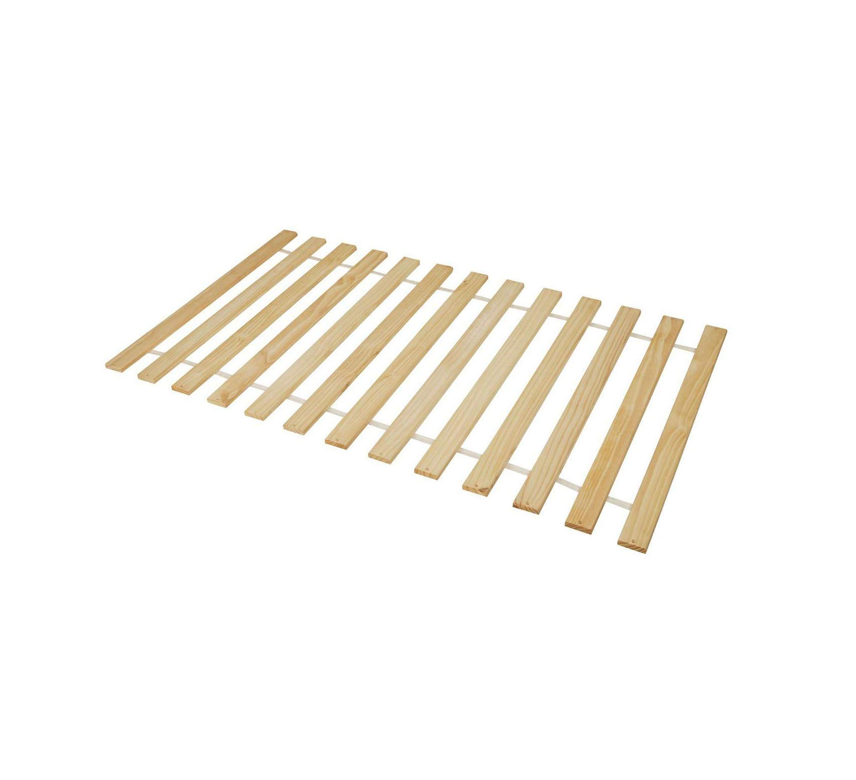 Wood & Style Slat Pack, Full, Unfinished Comfy Living Home Décor Furniture Heavy Duty