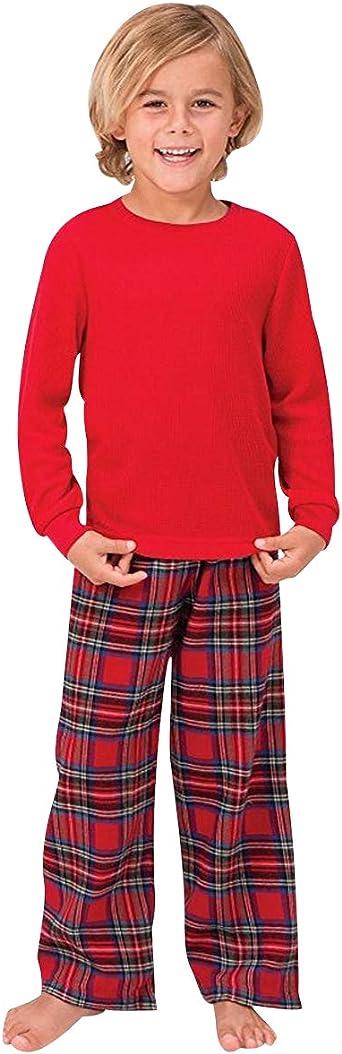 Pijamas Familiares Navideñas Pijama Navidad Cuadros Familia Conjuntos Navideños Bebe Mujer Niños Niña Hombre Adultos Trajes para Navidad Pijama Dos ...