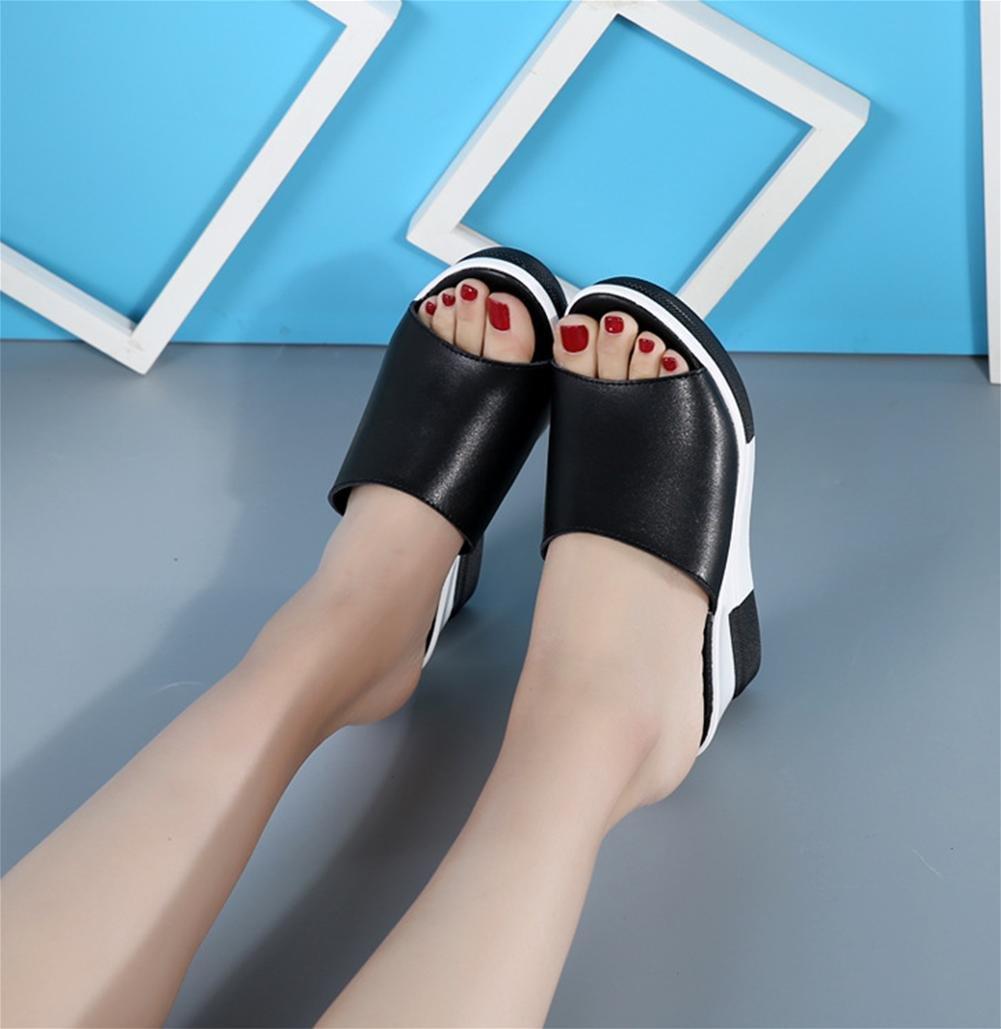 pengweiPantofole estive con signore sandali freschi sandali freddi , 1 , US6.5-7 / EU37 / UK4.5-5