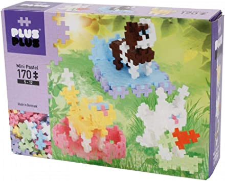 Plus-Plus Mini Pastel Building Blocks 220 pieces