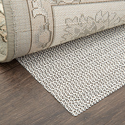 Home Dynamix Ultra Stop Non-Skid Cushioned Rug Pad 7'x8 x 10'2 Rectangle, Cream/Neutral