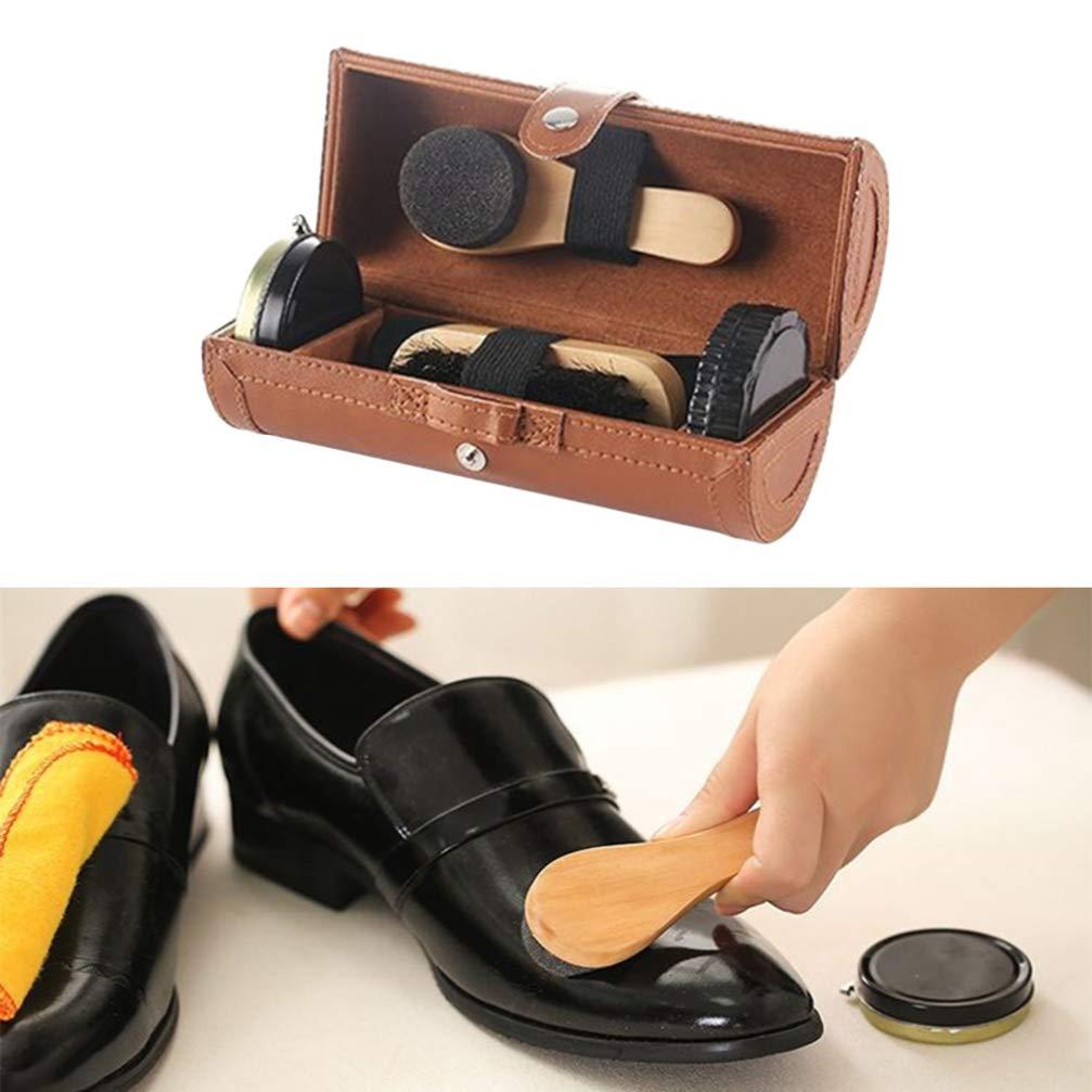 Vosarea 1pc Brosse /à Chaussures Kit Brosses de Nettoyage Pour le Polissage Brosses de Polissage Pour Hommes et Femmes