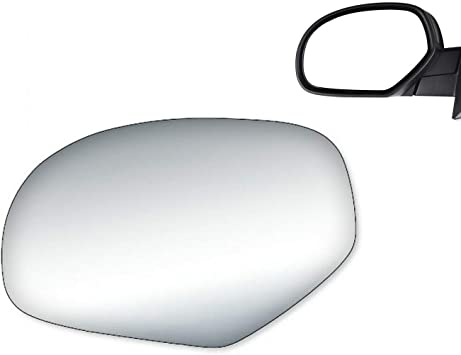 NEW Mirror Glass for Silverado Sierra Truck Suburban Tahoe Driver Left Side LH