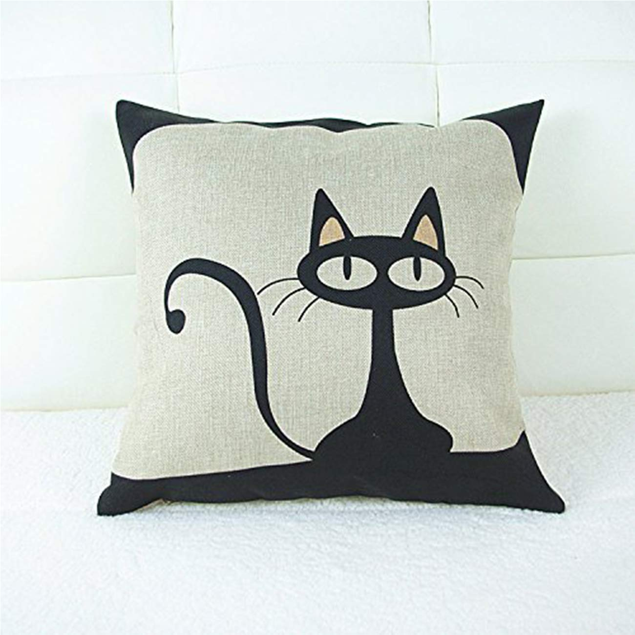 Black Cat Pillow Cover $1.79 +...