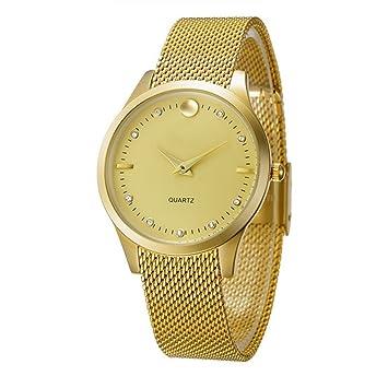 GAOY Watch Relojes Señora Reloj De Moda A Prueba De Agua Diamante Brillante Cuarzo Análogo Delgado Reloj De Malla,A: Amazon.es: Electrónica