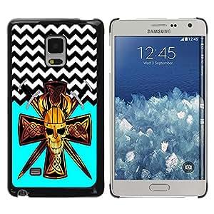 Dragon Case - FOR Samsung Galaxy Mega 5.8 - Face your fear - Caja protectora de pl??stico duro de la cubierta Dise?¡Ào Slim Fit