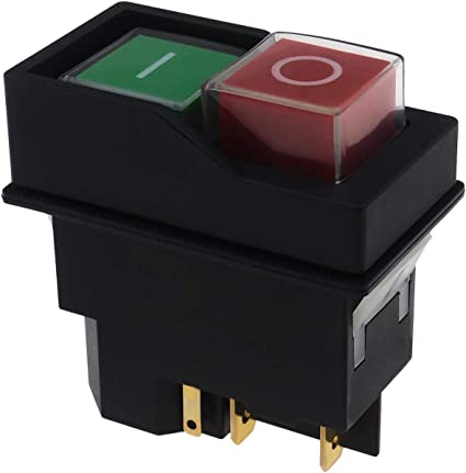 IP55 Switch for Belle Cement Concrete Mixer 240V Electric On Off Switch Button