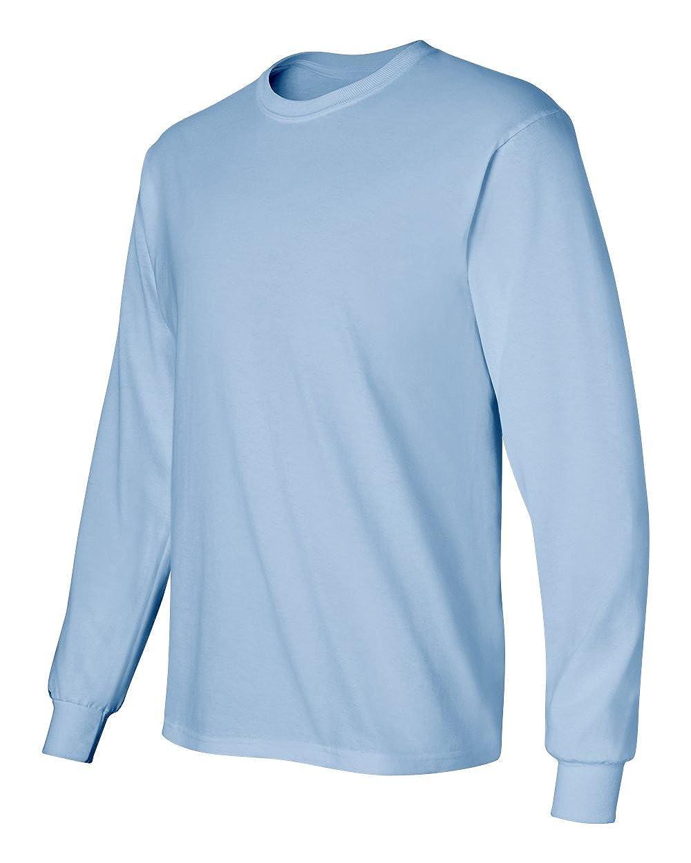 Cotton 6 oz Long-Sleeve T-Shirt G240