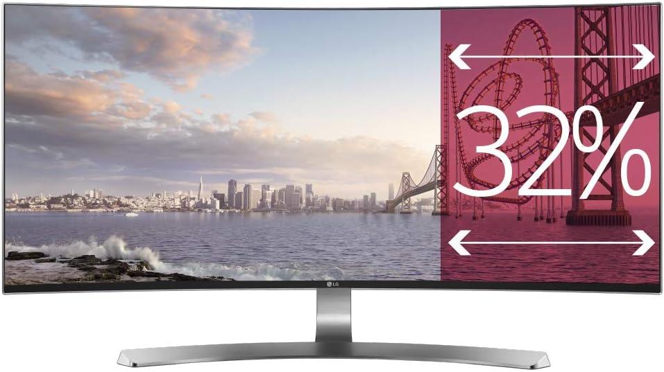 LG 34UC98-W - Monitor UltraWide Curva de 87 cm (34 pulgadas, Quad ...