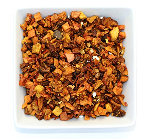 Tealyra - Cinnamon Sweet Pear - Hibiscus - Pineapple - Apple - Fruity Herbal Loose Leaf Tea - Caffeine Free - Hot or Iced - 112g ()