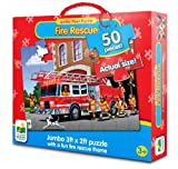 The Learning Journey Jumbo Floor Puzzles-Fire Engine Rescue