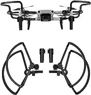 Helistar Quick Release Propeller Guard Rings with Landing Gear Extension Leg for DJI Mavic Mini Drone, Black