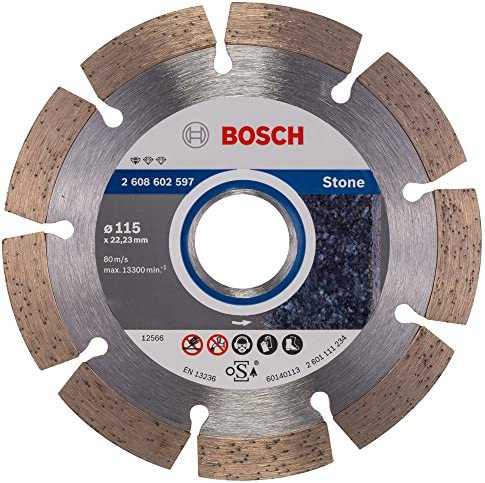 Bosch Professional diamantslijpschijf voor graniet en natuursteen115 mm accessoires voor haakse slijper