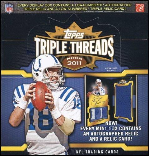 - 2011 Topps Triple Threads NFL Football box (2 pk)