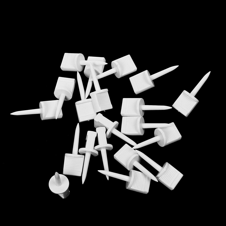 10 Stk Zielscheibe Scheibennagel  für Zielpapier Kunststoff
