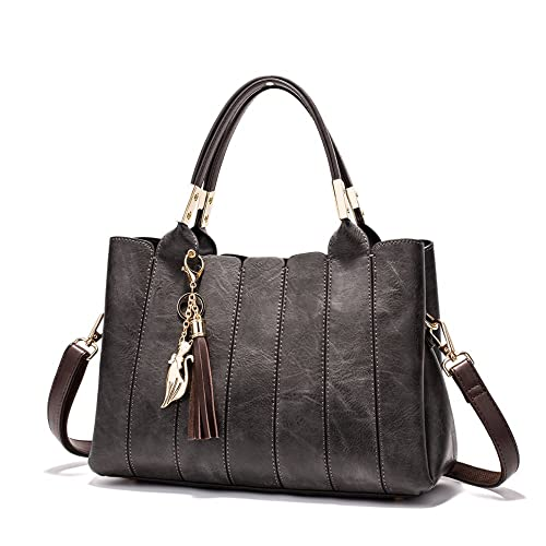 dc547be2e47f Women Handbags Tote Vintage Style Shoulder Purses Hobo Satchel Designer  Handbag Large work bags With Zipper