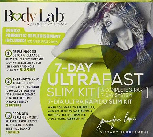 Body Lab 7 Day Ultra Fast Slim - Bodylab By Jennifer Lopez