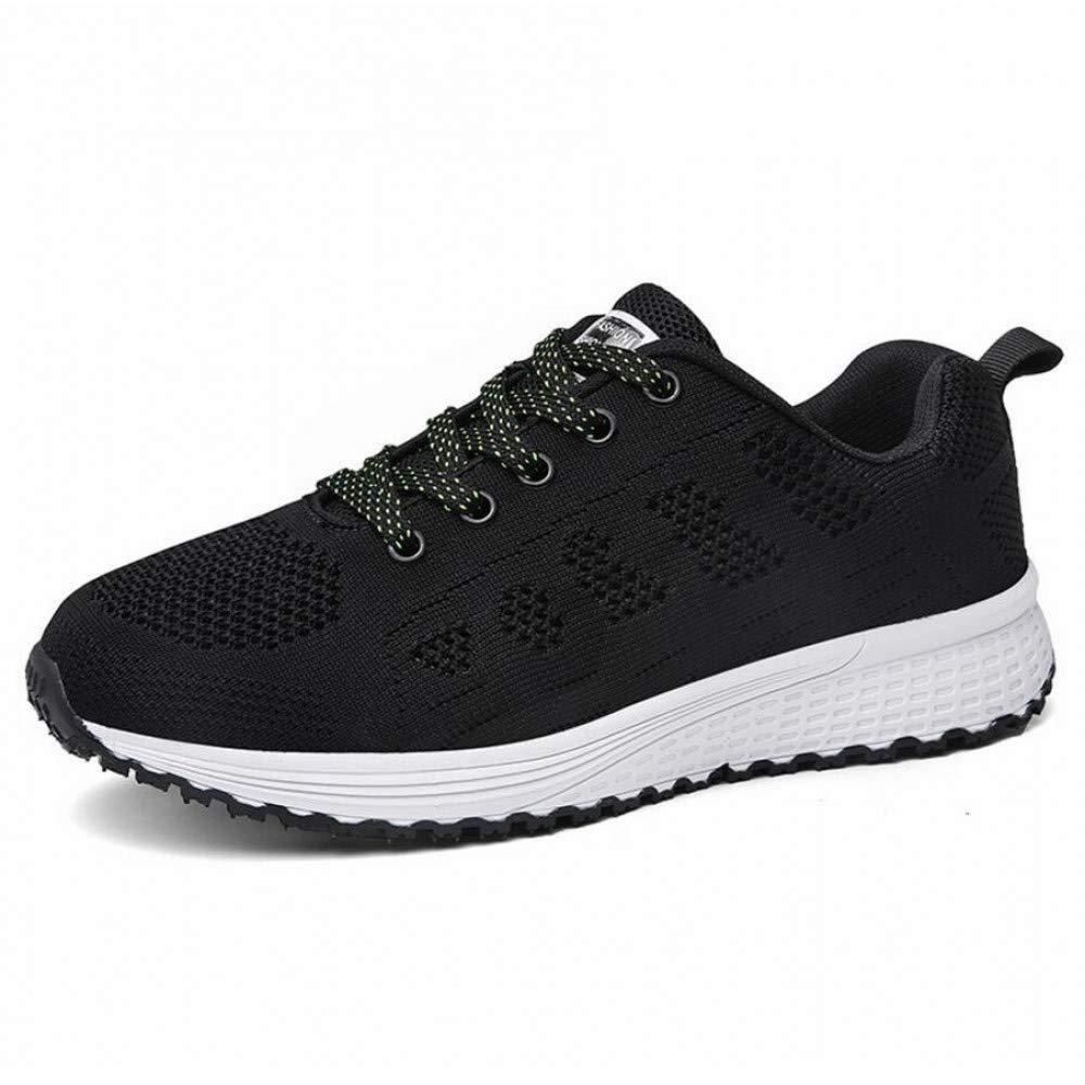 GUNAINDMX Sportschuhe Madam Frauen Mode Freizeitschuhe Weibliche Air Strick Mesh Air Weibliche Schuhe Schuhe 15793d