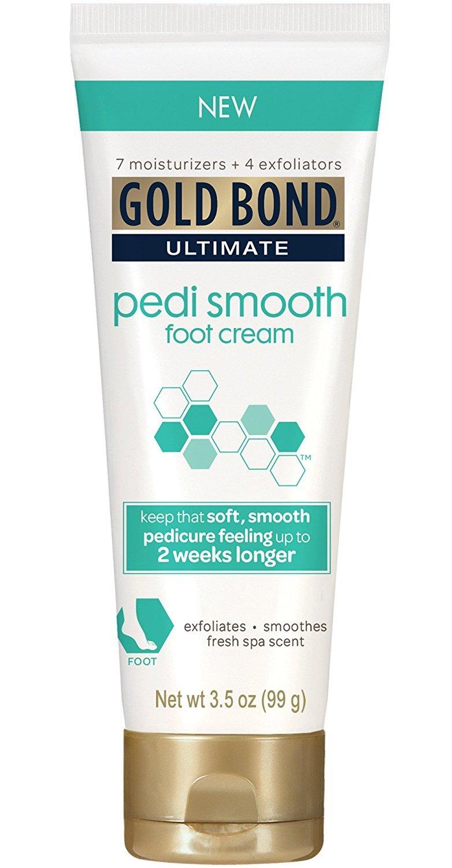 Gold Bond Pedi Smooth Foot Cream 3.5 oz (Pack of 3)