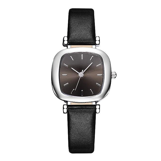 Amazon.com: HOSOME - Reloj de cuarzo para mujer, de alta ...