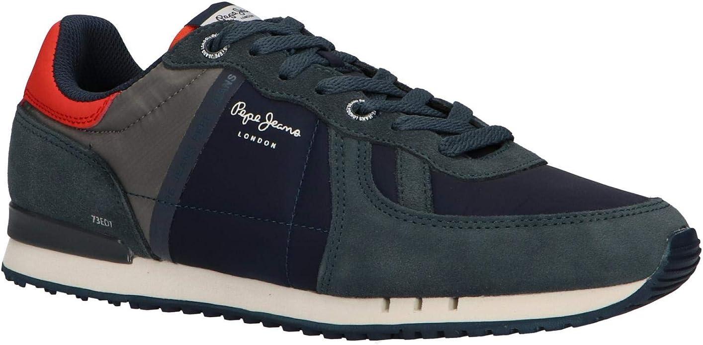 Pepe Jeans Tinker Zero Refletive, Zapatillas para Hombre: Amazon.es: Zapatos y complementos