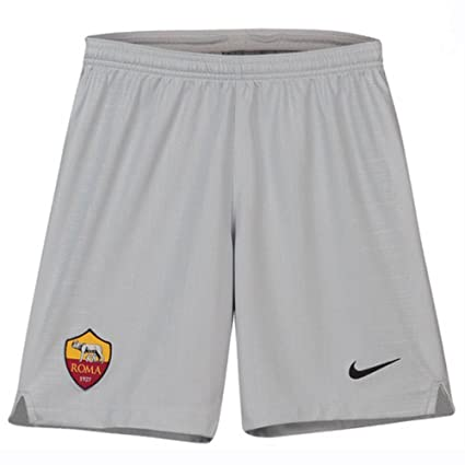 new style fc3ab 85b4d Image Unavailable. Image not available for. Color Nike 2018-2019 AS Roma  Away Football Shorts (Kids)