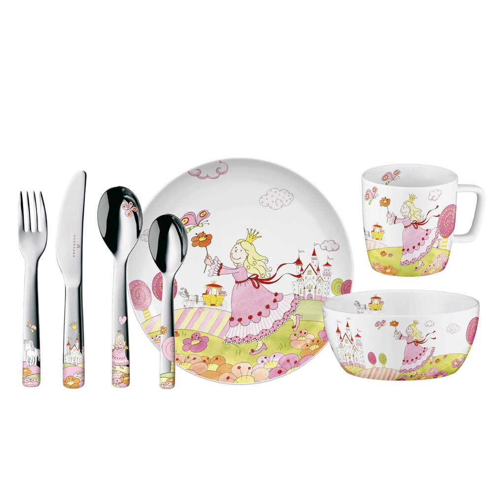 Auerhahn 22 6051 0138 Prinzessin Anneli Kinder-Set 7-teilig: Amazon ...