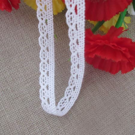 10 yards 13-24cm wide blackwhite mesh fabric embroidery tapes lace trim ribbon G5Y894P191106W