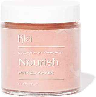 product image for Klei Coconut Milk and Chamomile Nourish Pink Clay Mask | Soften and Soothe Sensitive Skin | Natural and Cruelty-Free